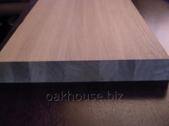 Solid oak countertops for the kitchen