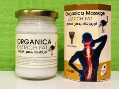 Мазь от боли в спине из костей страуса Organica