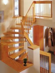 Ladders interfloor wooden