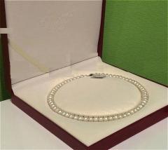 Ожерелье из морского белого жемчуга Akoya Класс