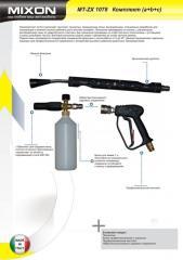 Пенокомплект (а+в+с) пенокопье, пистолет,