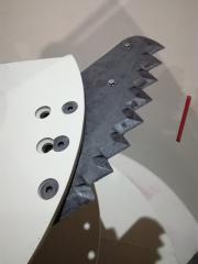 Нож кормосмесителя миксера кормораздатчика