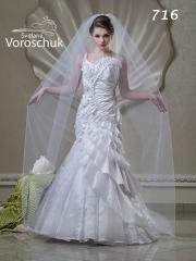 Весільна сукня, модель 716 РОЗПРОДАЖ