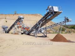 Ситогидроциклонная установка (пескомойка)
