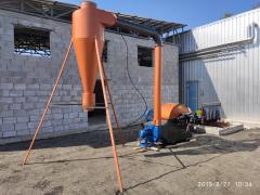 Подрібнювач гілок, дробарка для дерева до 220мм