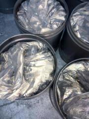 Aluminum paste for production of a gas concrete