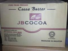Какао масло натуральное JB 100-РРР Производство