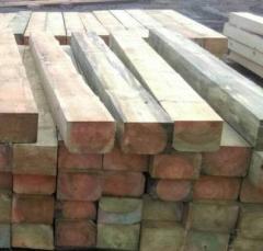 Шпала деревянная, хвойных пород Тип 1