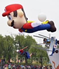 Надувная фигура Марио Mario 5м