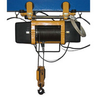 The telpher of electric rope 2 t (2 tons) height