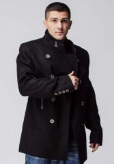 Pea jacket (Model - 909 (black))