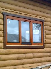 Euro windows of wood, from the manufacturer to buy