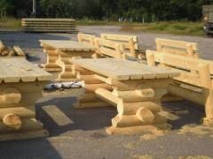 Столы из натурального дерева Киев