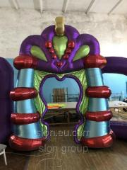 Inflatable stage decoration Fairy Arch