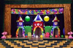 Inflatable stage decoration Fairy tale castle