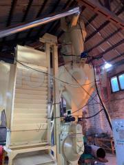 Линия по производству пеллет из сена, соломы, люцерны