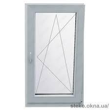 Окно металлопластиковое поворотно-откидное Steko