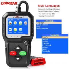 Adapter сканер KONNWEI KW680 цветной экран