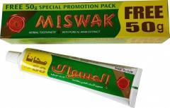 Зубная паста мисвак miswak 120 грамм + 50 грамм