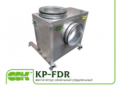 Fan KP-FDR-2,8-2-380 channel groove for kitchens