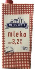 Молоко 3, 2 %  Mleczarnia