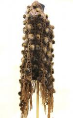 Шаль из меха - меховая шаль коричневая. Светло
