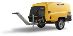 Portable compressor diesel Kaeser 10 of bars