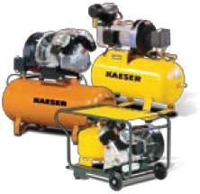 Compressor equipment delivery service of the spare