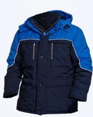 Куртка зимняя. Одежда рабочая зимняя