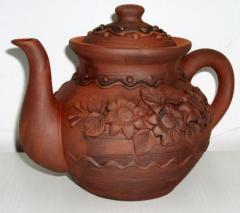 Products from red ceramics