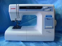 Electromechanical sewing machine JANOME ME 1221