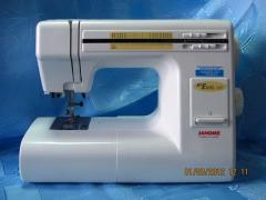Electromechanical sewing machine JANOME ME EXCEL