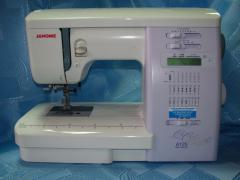 Kompyyuterozovanny sewing machine JANOME QC 2324