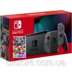 Игровая приставка Nintendo Switch Gray + Mario