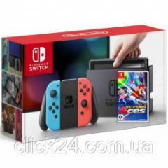 Игровая приставка Nintendo Switch Neon Blue-Red +