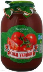 """Сік """"Соки України"""" птоматний з м'якоттю"""