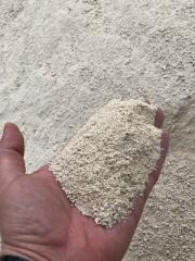 Limestone of fraction 0 - 5 mm