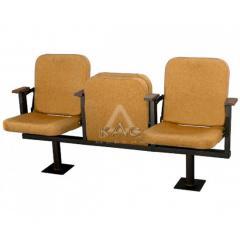 """Секционное кресло для кинотеатра """"Плаза"""""""