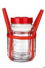 Large bottle of 25 liters.