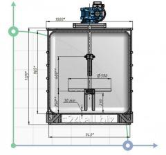 Мешалка лопастная для вязких продуктов MV 500895S
