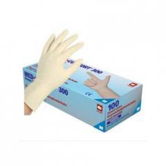 Перчатки латексные без пудры Ampri MED COMFORT 300