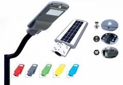 Public lighting on solar energy, 20 W