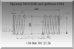 Пружина 244-0-0-6Б дробилки СМД-110