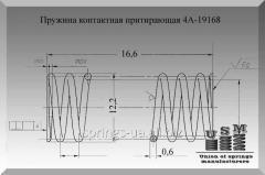 Изготовление пружин. Пружина 4А-19168