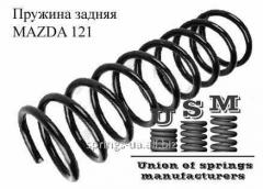 MAZDA 121 пружина задняя, пружина задняя Мазда