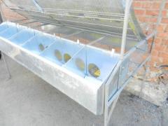 Клетка маточная на 6 крольчих, клетки для кроликов, оборудование для выращивания кроликов