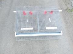 Клетка для перепелов, клетки для кроликов, оборудование для выращивания кроликов, перепелов