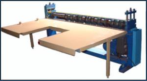 Оборудование для производства гофротары. Машина