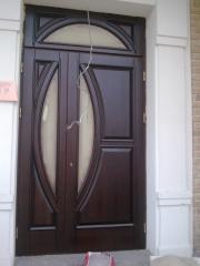 Двери межкомнатные двойные