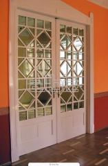 Doors are wooden interroom, to order, Ukraine.